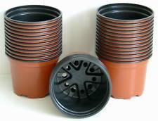 200x 9cm Round Squat Terracotta Pot Volume 280cc