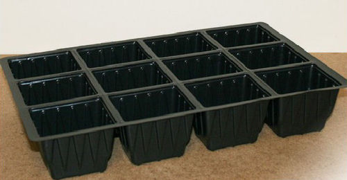 5 x Vacapot 12 Cell Plug Plant Insert Seed Trays