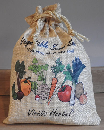Vegetable Seed Sack 30 Varieties Seed Ideal Gift